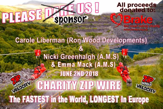 Zip wire poster