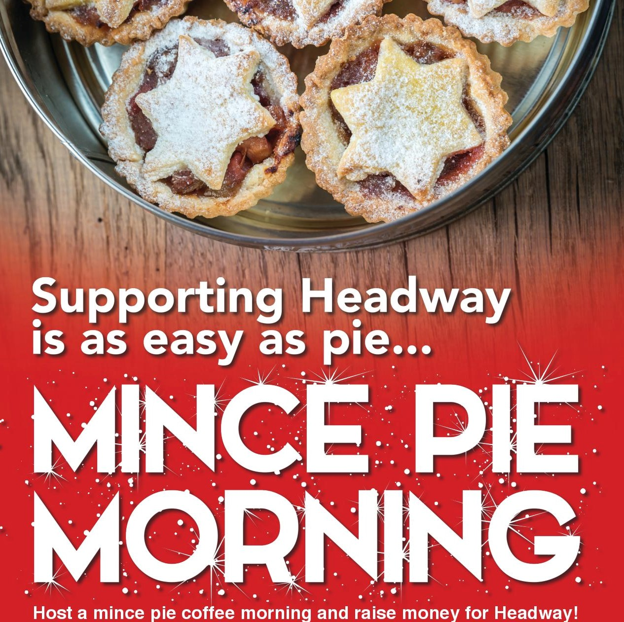 HW Mince pie poster